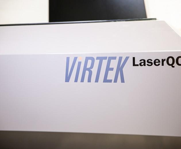 Virtek Laser Inspection and Reverse Engineering