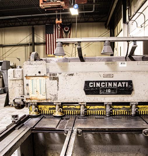 Cincinnati Shear