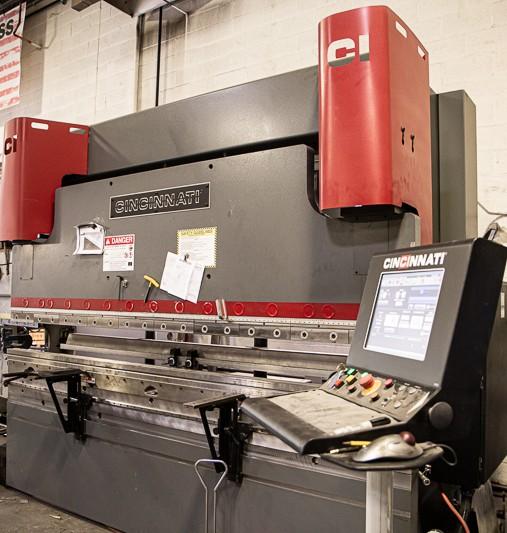 90 Ton Cincinnati Press Brake